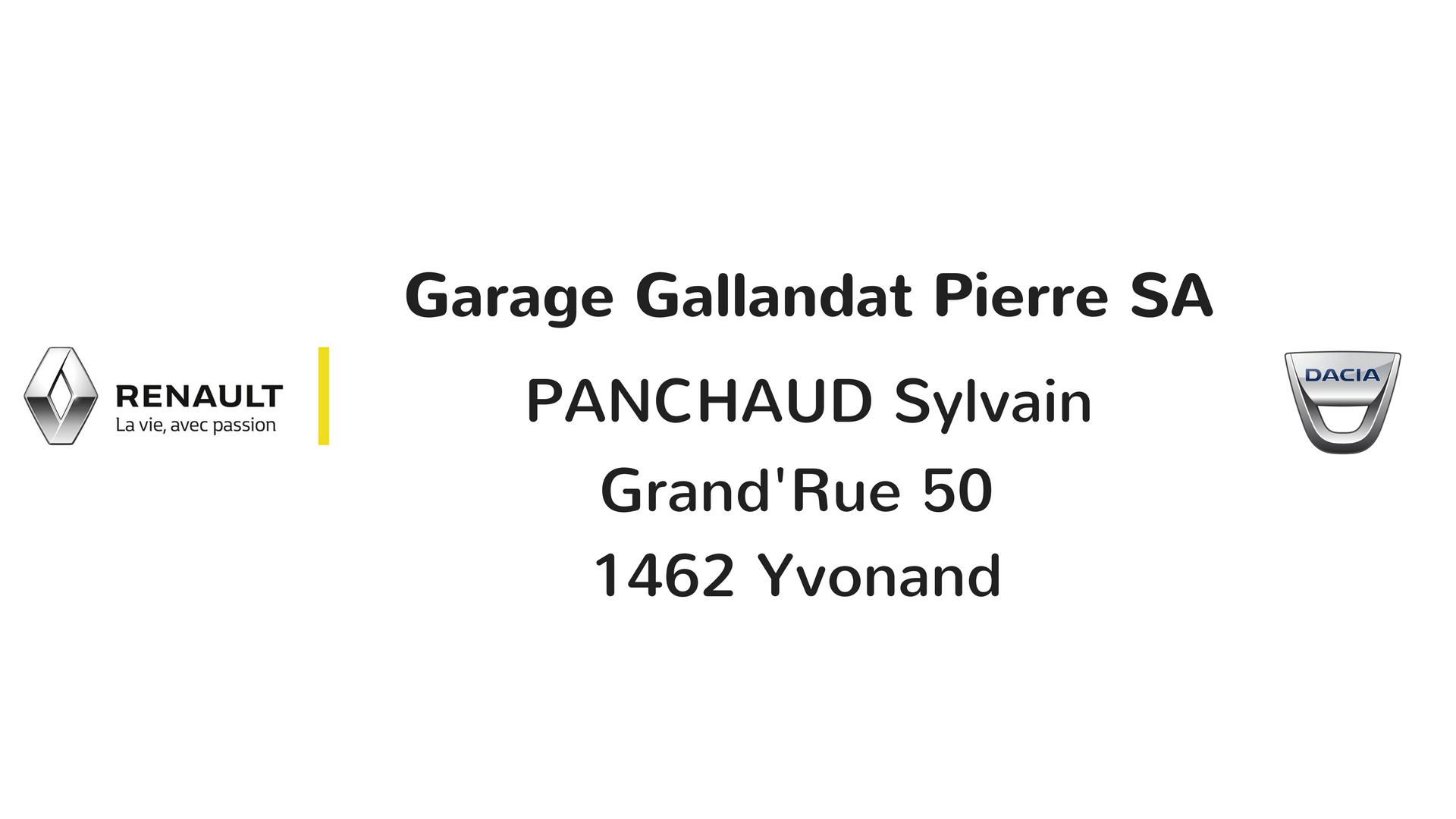 Garage Gallandat Pierre SA