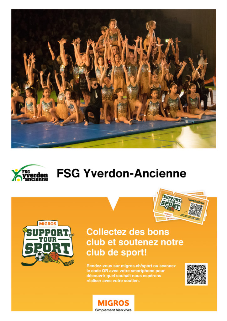 Migros «Support your sport»